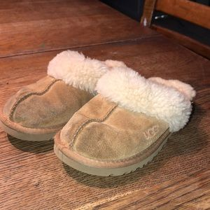 Kid's UGG House Slippers. Size 13